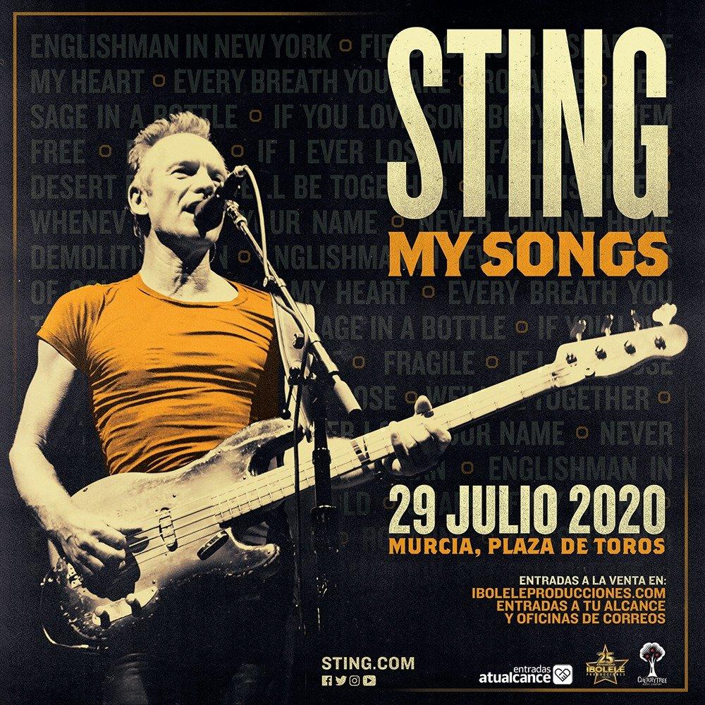 Sting Murcia My Songs Entradas a tu alcance